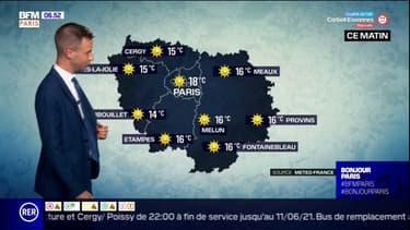 Météo Paris Ile-de-France: un temps ensoleillé pour ce mercredi