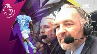 Chelsea-Manchester City : Le but de Jesus depuis le poste com avec Stéphane Guy et Eric Roy