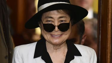 L'artiste Yoko Ono, veuve de John Lennon.