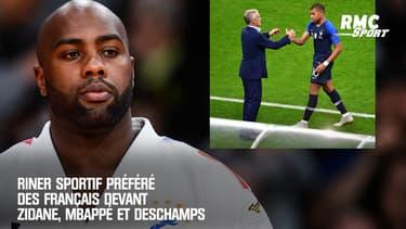Riner sportif préféré des Français devant Zidane, Mbappé et Deschamps