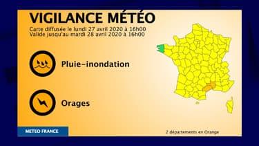 L'Hérault et le Gard placés en vigilance orange orages et pluie-inondation