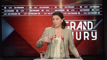 Agnès Buzyn sur le plateau du Grand Jury ce dimanche.