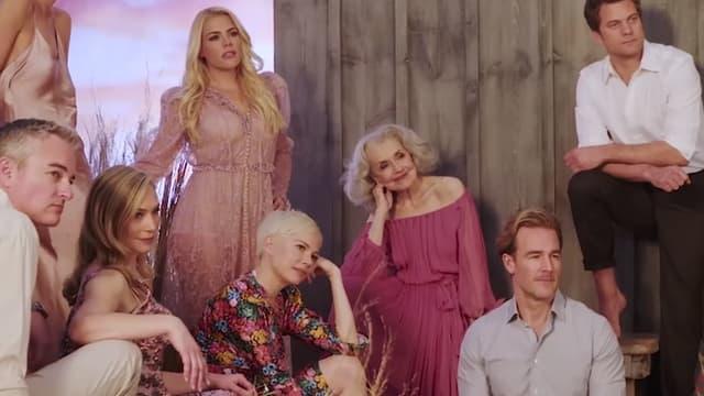 Le casting de Dawson réuni le temps d'une séance photo
