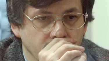 Marc Dutroux lors de son procès en août 2004 à Arlon, en Belgique