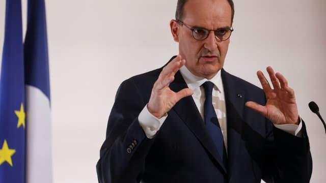 Le Premier ministre Jean Castex, le 22 avril 2021 à Paris