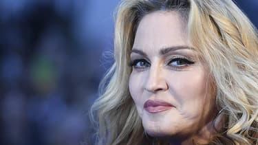 Madonna à Londres en 2016