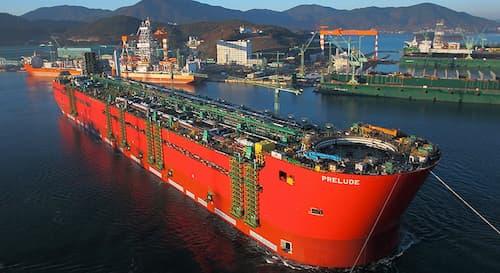 Ce navire de 488 mètres de long transporte chaque année 3,6 millions de tonnes de gaz.
