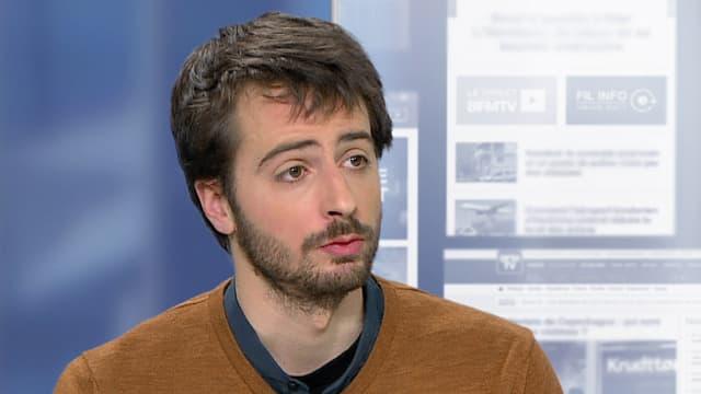 William Martinet, président du syndicat étudiant Unef sur BFMTV le 1er mars 2016.