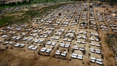 Un camp de réfugiés au Darfour, région du Soudan, en août 2017 (photo d'illustration)