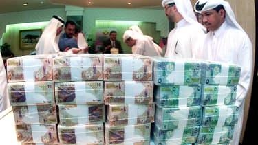 Barclays, Lloys Banking Group et RBS ont chacune déclaré être à court de liquidités qataries.