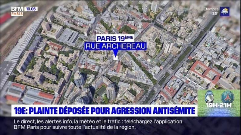 Paris 19e: une plainte déposée pour agression antisémite