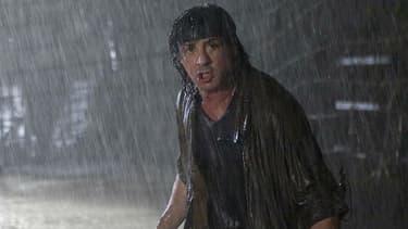 "Sylvester Stallone dans ""John Rambo"" sorti en 2008"""
