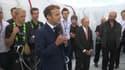 Le chef de l'État s'est exprimé ce jeudi à l'occasion de l'inauguration de l'œuvre de Christo