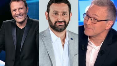 Arthur, Cyril Hanouna et Laurent Ruquier