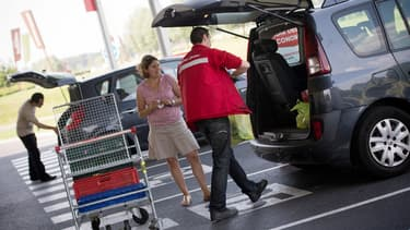 Sur les produits de grande consommation, le drive s'est déjà adjugé 4% de part de marché annuelle en quelques années.