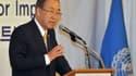 Le secrétaire général de l'ONU, Ban Ki-moon, vendredi 23 août.