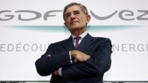 """Pour Gérard Mestrallet,  """"l'Europe est en train de détruire une partie de son industrie énergétique""""."""