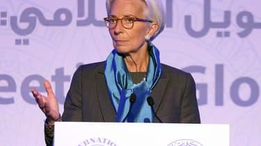 Christine Lagarde estime que les projets de l'administration Trump seront bénéfiques sur la croissance américaine.