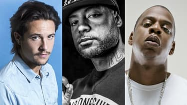 Nekfeu, Booba et Jay Z.