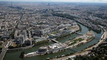 Vue de Boulogne-Billancourt.