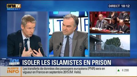 BFM Story: Prison: Manuel Valls veut isoler les détenus jihadistes - 13/01