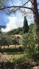 Incendie dans la forêt de Seillans (Var) - Témoins BFMTV