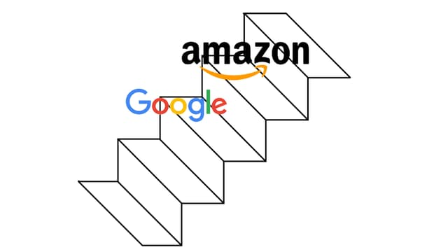 Amazon vient de dépasser Google en Bourse