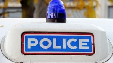 Une voiture de police - Photo d'illustration