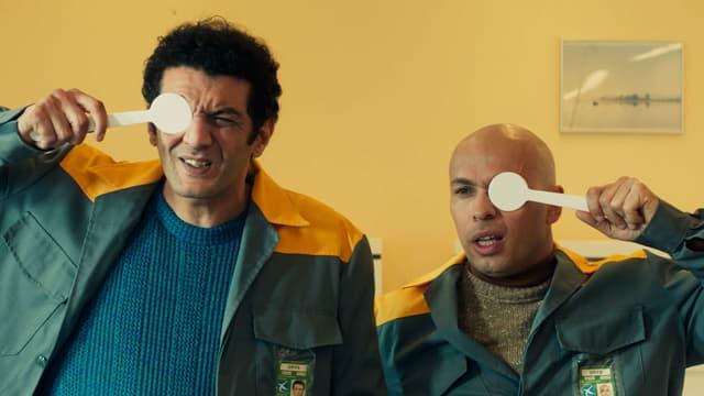 """Eric Judor et Ramzy Bedia dans """"La Tour 2 Contrôle Infernale"""""""