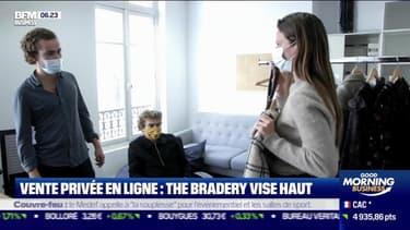La France qui repart : Vente privée en ligne, The Bradery vise haut, par Justine Vassogne - 19/10