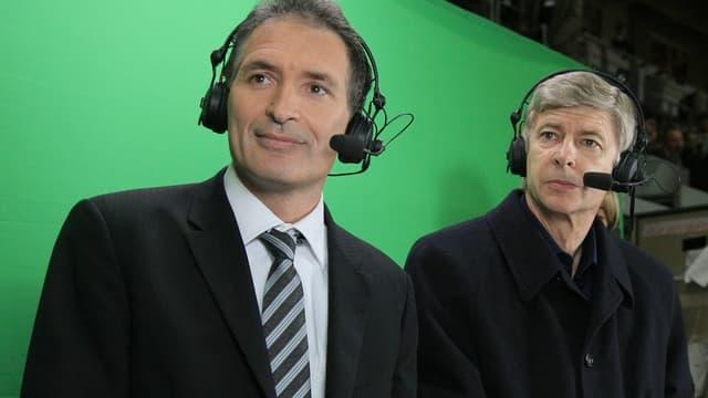 Christian Jeanpierre et Arsène Wenger