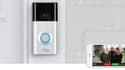 Les sonnettes connectées de Ring ont une caméra de vidéosurveillance qui renvoient les images sur un smatphone.
