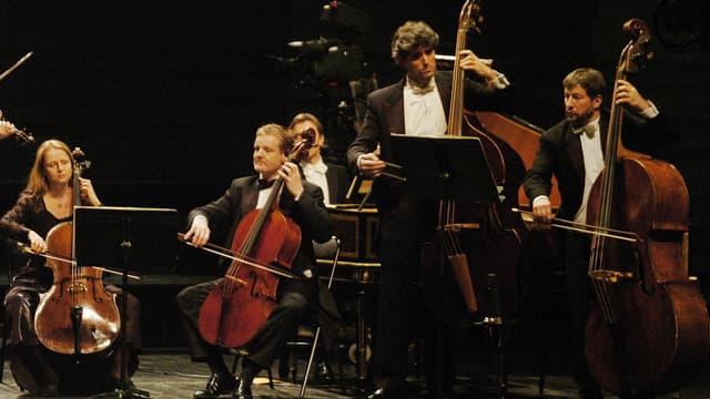 Des membres de l'orchestre Concerto Köln en 2006.