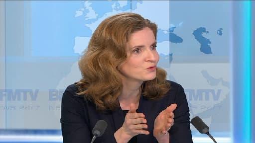 """Nathalie Kosciusko-Morizet a fustigé la gestion économique de Bertrand Delanoë, qu'elle considère comme une """"fuite en avant""""."""