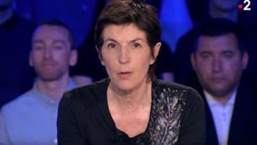 """Christine Angot dans """"ONPC"""" le 8 juin 2019"""