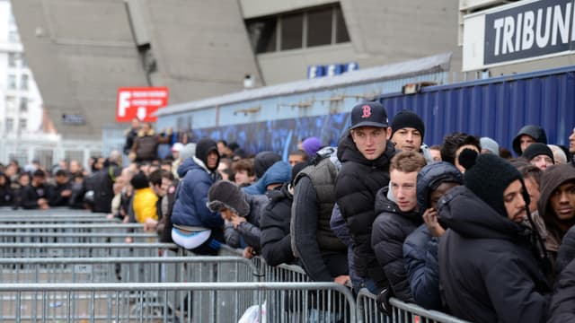 Les supporters du PSG