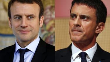 Emmanuel Macron a été recadré par Manuel Valls après sa sortie sur l'Impôt sur la fortune.