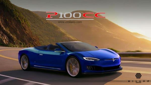 Et bien sûr la version coupé-cabriolet avec cette P100CC