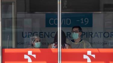 Urgences de l'hôpital de Santiago du Chili