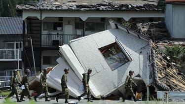 Les tremblements de terre au Japon en avril dernier