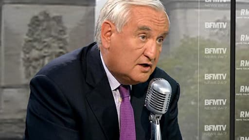 Le sénateur UMP de la Vienne, Jean-Pierre Raffarin.