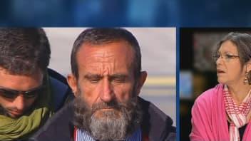 La mère de l'ex-otage, Pierre Legrand libéré mardi soir sur le plateau de BFMTV