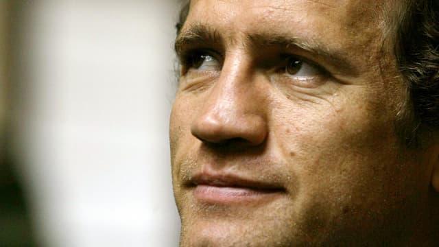 Fabien Galthié, entraîneur de Montpellier