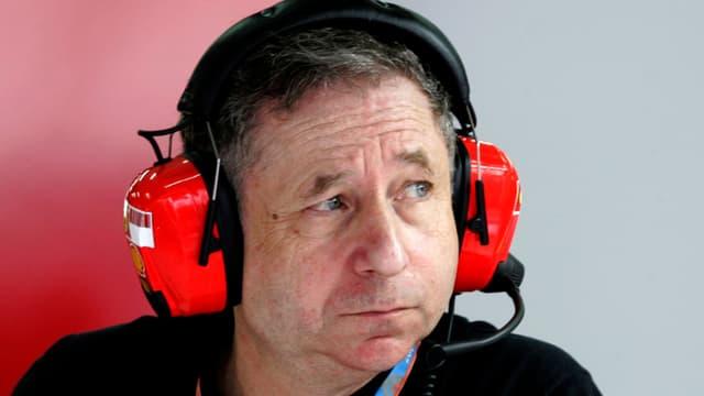 Jean Todt, président de la FIA