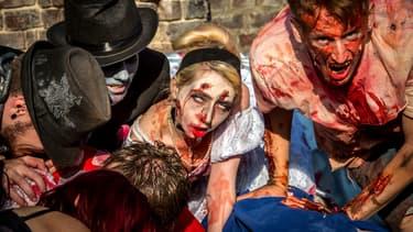 """Marche de """"zombies"""", le 1er octobre 2014 à Lille. (Illustration)"""