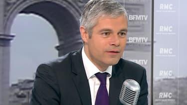 Laurent Wauquiez sur BFMTV, le 26 novembre.