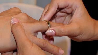 Jeremy Stamper a redemandé sa femme en mariage.