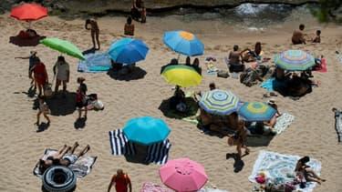 Une plage près de Gerone, en Espagne, le 5 juillet 2020.