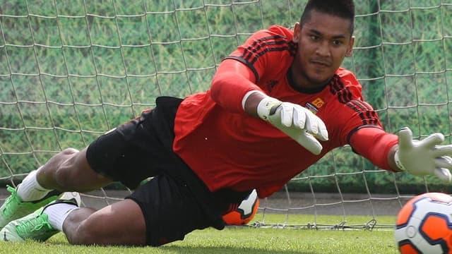 Alphonse Areola, le nouveau gardien du RC Lens