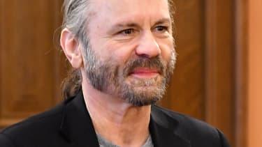 Bruce Dickinson, le chanteur de Iron Maiden, le 6 avril à Sarajevo.